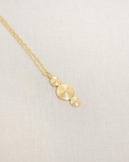 Nina Berenato Abundance Necklace - gold