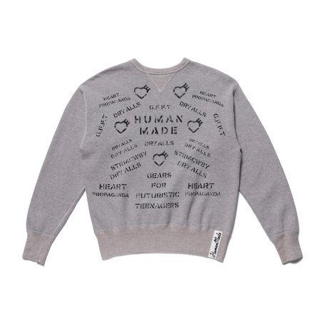Human Made Military Sweatshirt - Grey