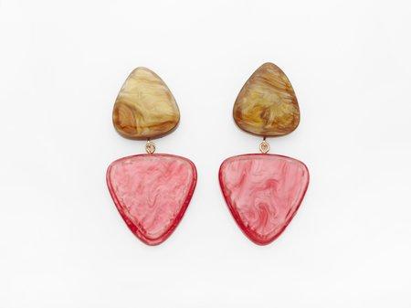 Valet Studio Betsy Earrings - Cherry