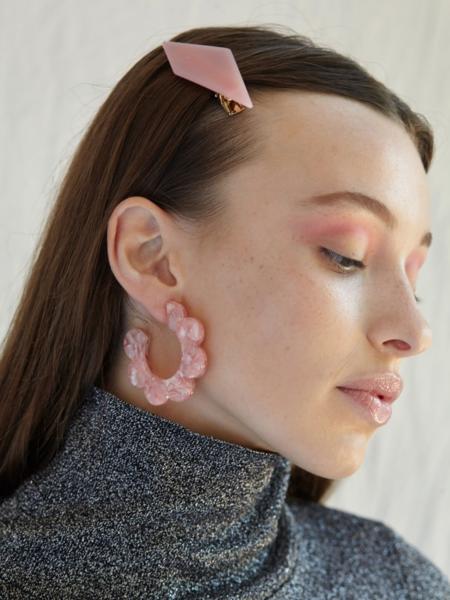 Valet Studio Maritza Earrings - Pink