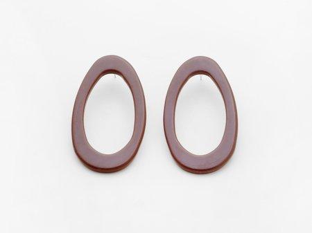 Valet Studio Marlo Earrings - Ocre