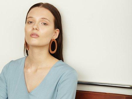 Valet Studio Marlo Earrings - Old Pink