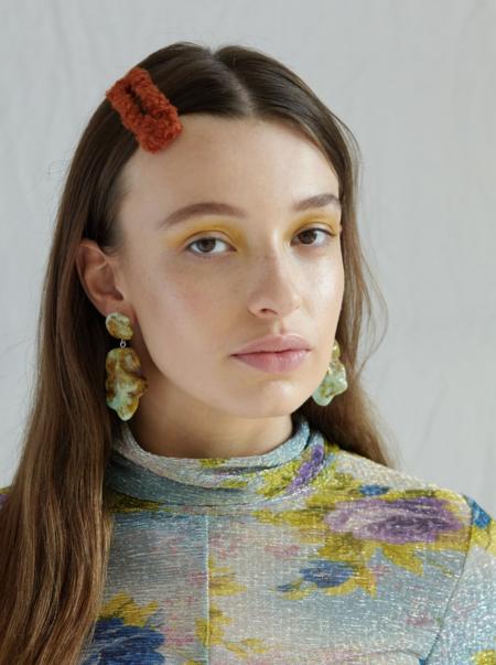 Valet Studio Molly Earrings - Green