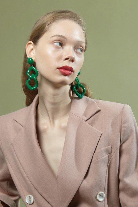Valet Studio Tamara Earrings - Blue