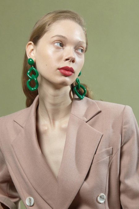 Valet Studio Tamara Earrings - Tortoise