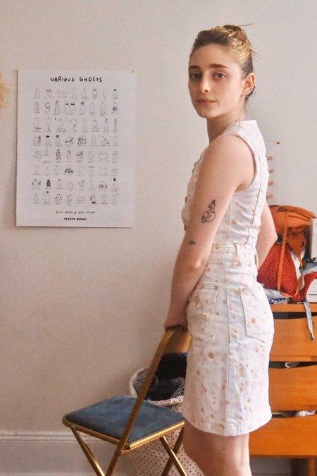Rachel Antonoff Josh Mini Dress - Neopolitan Splatter