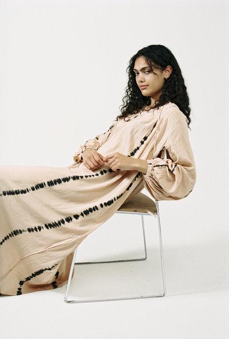 Natalie Martin Lizzy Maxi Dress - Sandstone Tie Dye