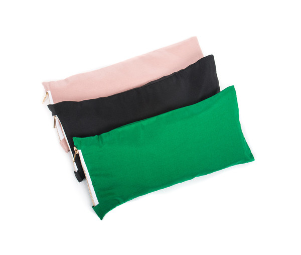 Chay Silk Eye Pillow in Green