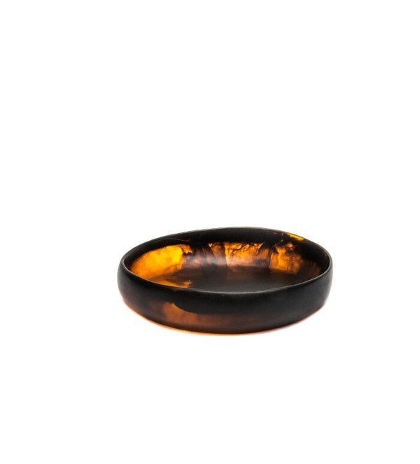 Dinosaur Designs Small Earth Bowl in Amber