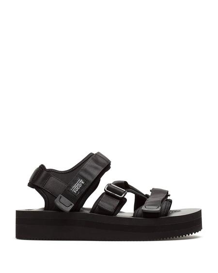 Suicoke Kisee-Vpo Black High Sandals - Black
