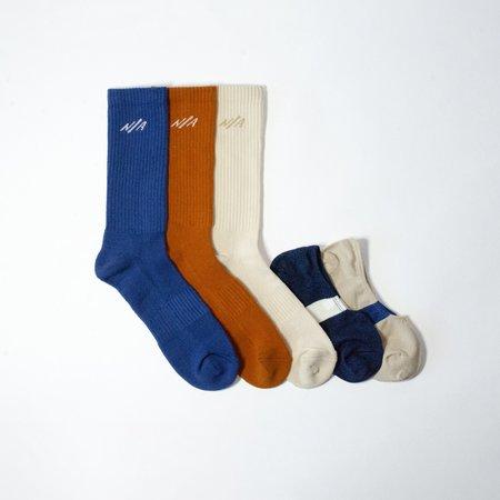 N/A Summer Solids 5 Pack socks - Multi