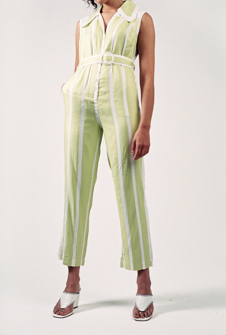 HOUSE OF SUNNY Palm Bay Suit - Lime