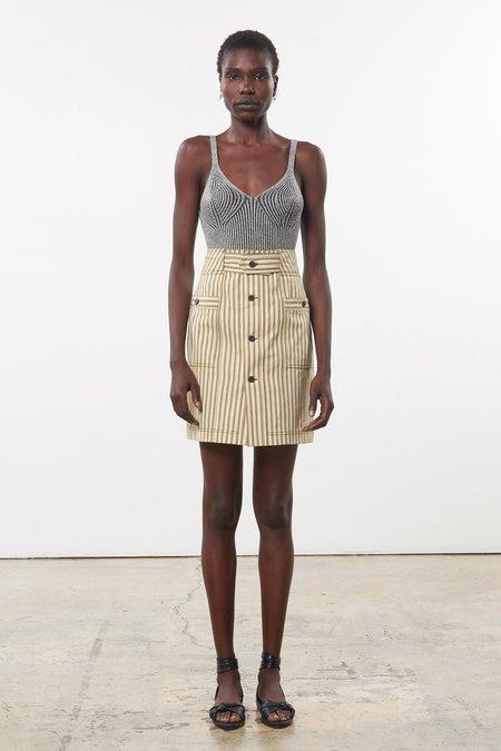 Mara Hoffman Lici Skirt - Olive