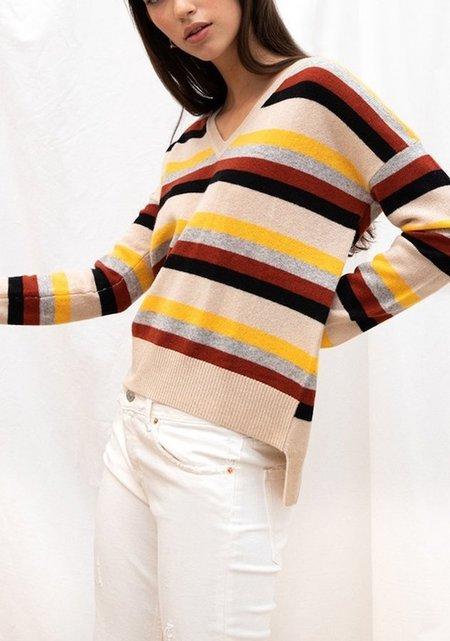 Charli London Clove Cashmere Sweater - Stripe
