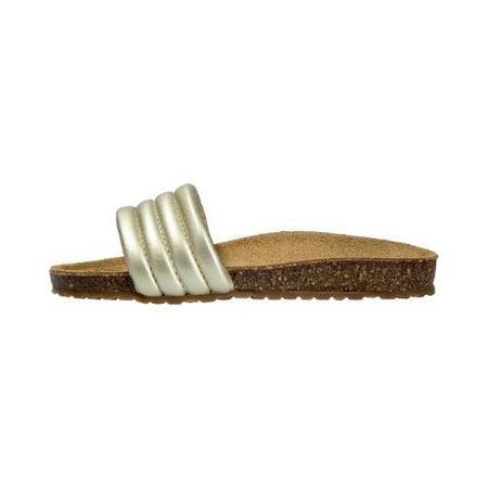Kids lmdi collection cork sandals - gold