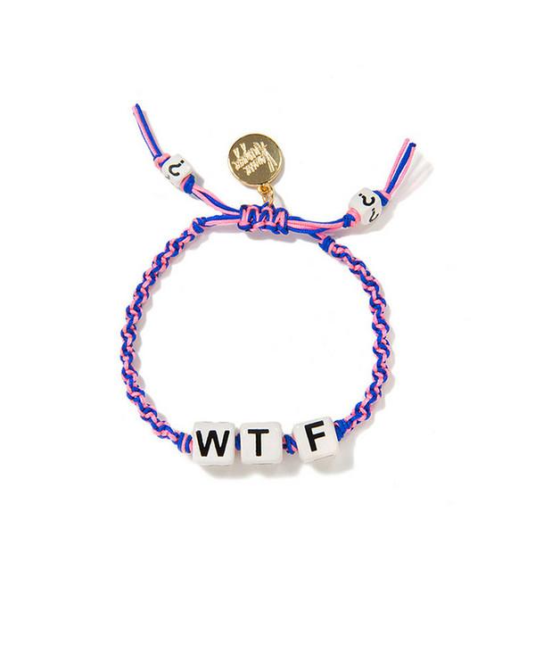 Venessa Arizaga WTF Friendship Bracelet