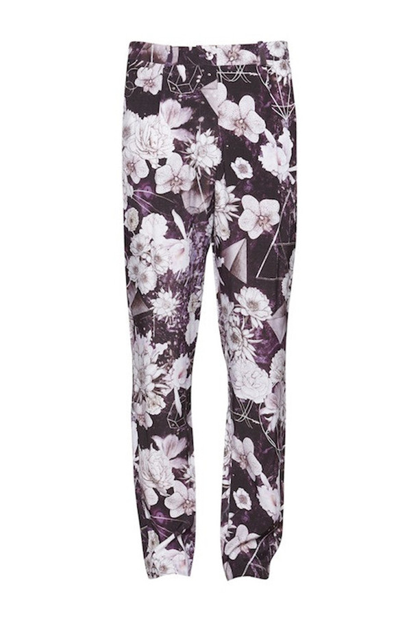 Something Else Space Floral Pants