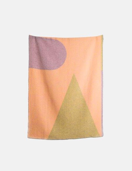 ZigZag Zurich Konstructiv Wool Blanket - Multi