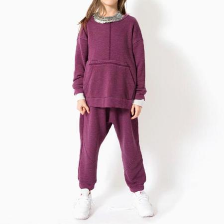 Kids Nico Nico Tinley Sweatshirt - Berry Purple