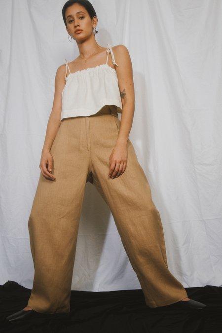 SELVA / NEGRA linen flo trouser