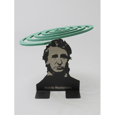 Mountain Research Little Summer Camp Mosquito Coil Holder - Black