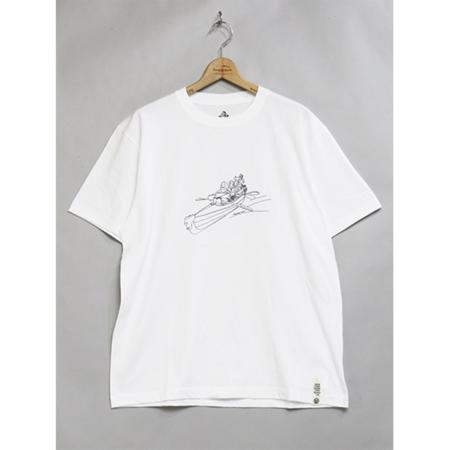 Mountain Research Mountain Man(s) (Canoe) T-Shirt - White