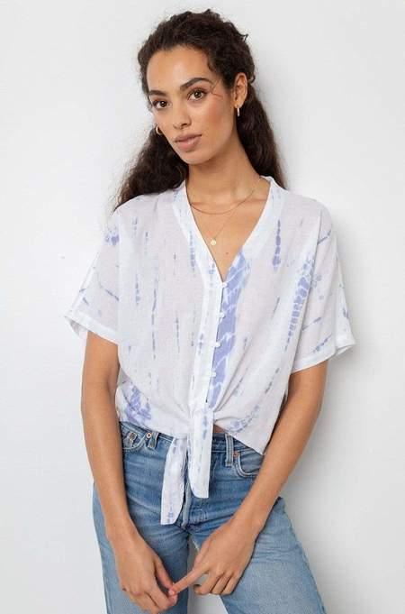 Rails Thea Top - Cloud Tie Dye