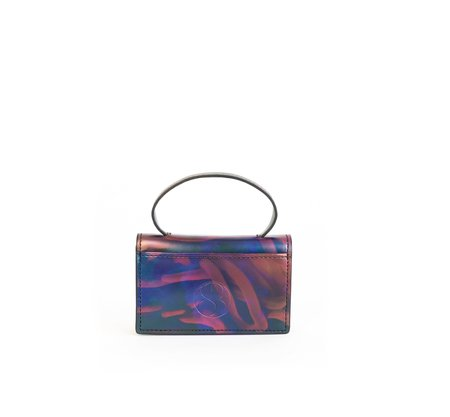 Sydney Brown Lulu Wallet - Iridescent