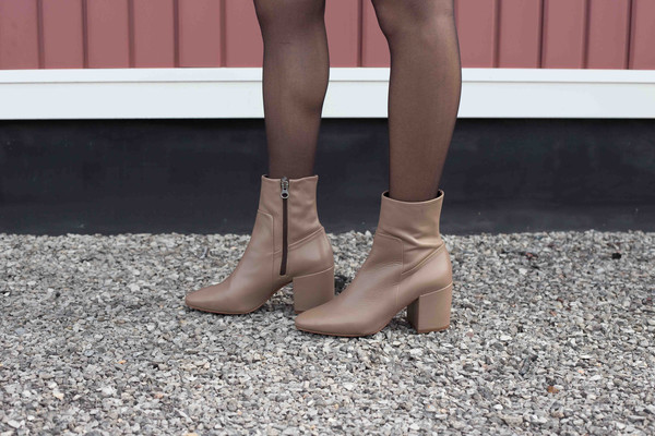 L'Intervalle Milena - Taupe Leather