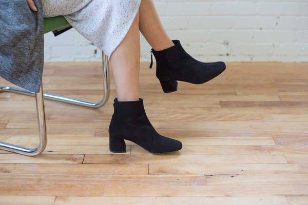 L'intervalle Soho Boots - Black Suede