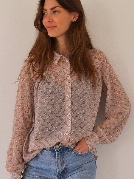 Lolly's Laundry Molly Shirt - Dusty Rose