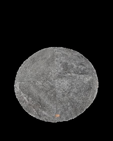 Shepherd of Sweden Ebba Round Rug - Grey Graphite