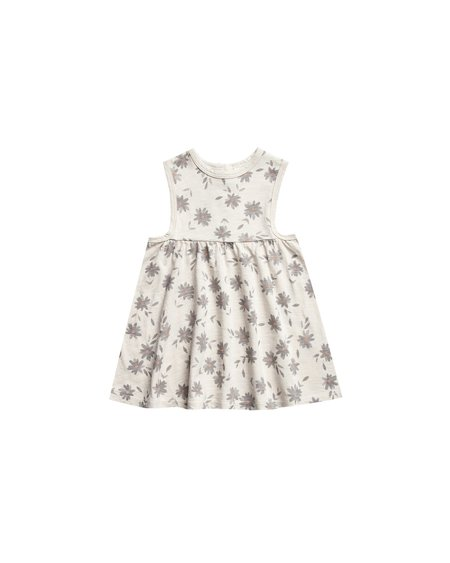 Kids COUCOU Daisies Layla Dress - Natural
