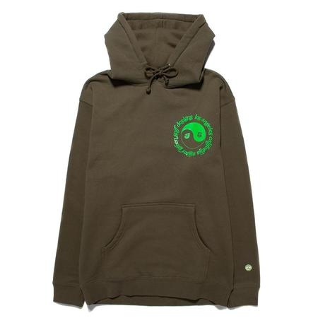 Mister Green Dualism Surf Pullover Hoodie - Army