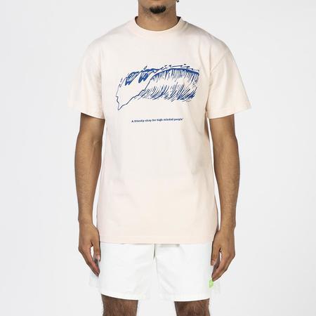 Mister Green Friendly Wave T-shirt - Natural