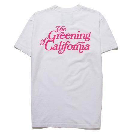 Mister Green Greening of California T-shirt - White
