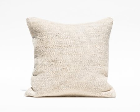 Collected by Wynne Ware Large Antique Turkish Hemp Pillow Cover - Natural