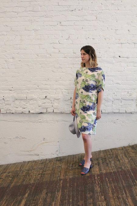 WHiT ESME Dress - Landscape Print