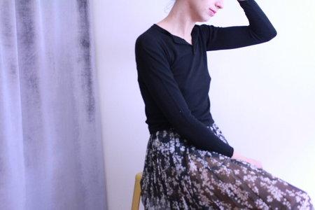 Callahan Henley Sweater - Black