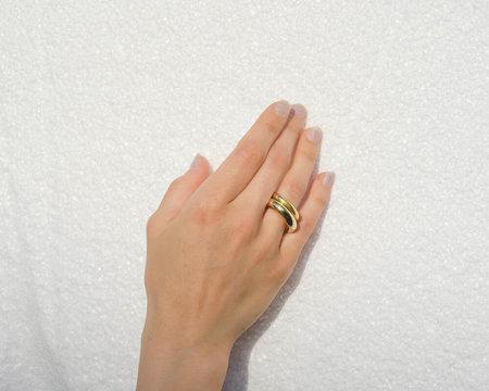 UNISEX LUINY Círculo Rings