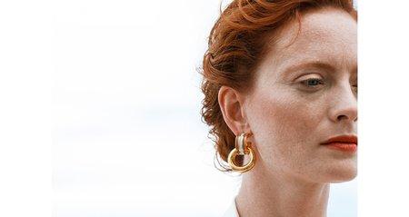 Lizzie Fortunato PIAZZA EARRINGS - MARINE