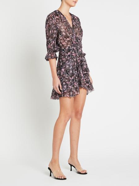 IRO Lolly Dress - Black/Pink