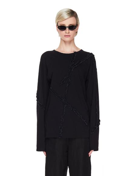 Yohji Yamamoto Cotton & Linen Longsleeve - Black