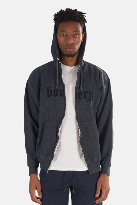 Blue&Cream Bowery Hoodie Sweater - Navy
