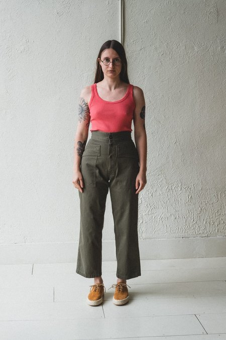 As Ever TANKER PANT - OLIVE