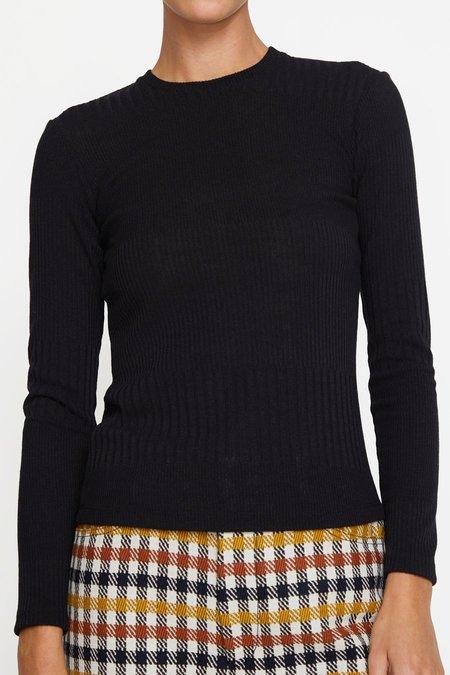 No.6 Stellan Crewneck Knit - Black