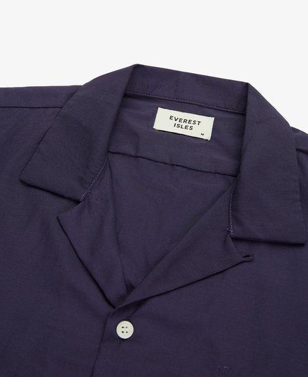 Everest Isles Beach Shirt - Midnight Navy