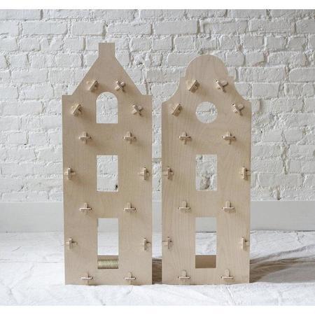 maquette kids clock gable dollhouse