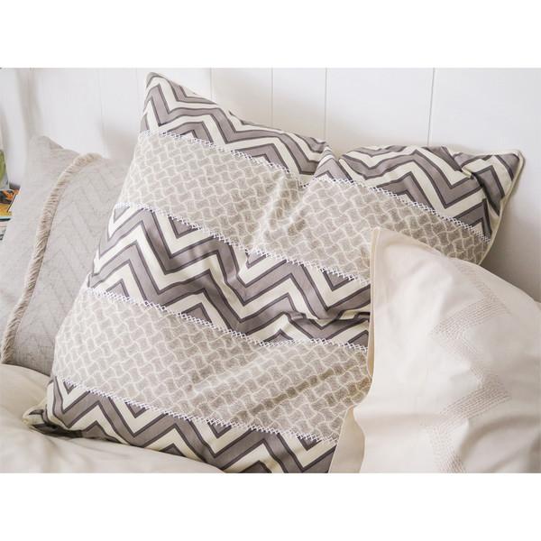 Erica Tanov patchwork euro throw pillow