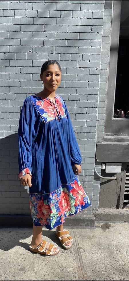 Vintage Dress with Bishop Sleeves